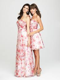floral print bridesmaid dress 1435 bridesmaid dress surplice bodice