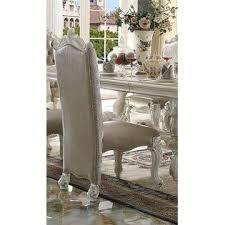 acme united antique traditional bone white 7pc dining set dining