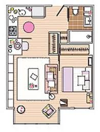 450 sq ft apartment design how to efficiently arrange furniture in a studio apartment floor