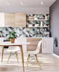 kitchen design with cool simple glass kitchen backsplash also