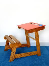 bureau pupitre adulte bureau pupitre et banc design vintage brocnshop of bureau