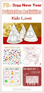 new year kids book 70 free new year printable activities for kids
