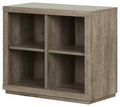 4 cube shelving unit weathered oak finish farmhouse display