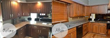 Newtown Cabinet Refacing  Kitchen Cabinet - Kitchen cabinet refacing before and after photos