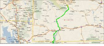 Wy Map Roving Reports By Doug P 2012 24 Lander Wyoming