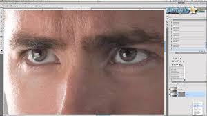 photoshop tutorial glowing eyes youtube