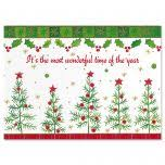 christmas dreams nonpersonalized christmas cards set of 18