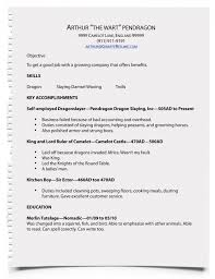 how do you write a resume for a job contact information sample