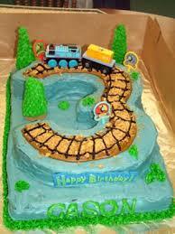 thomas train birthday cake picture