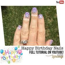 cute and easy birthday nail designs birthday crown nail polish