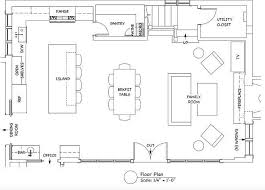 kitchen floor plans islands kitchen floor plans with island and walk in pantry others