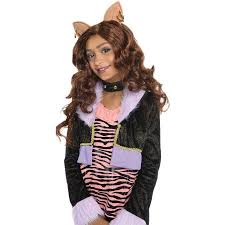 Wolf Halloween Costume Monster Clawdeen Wolf Wig Halloween Costume Accessory