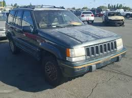 1994 jeep grand for sale 1j4gz78s9rc258221 1994 green jeep grand cher on sale in ca