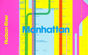 Nyc Subway Map Poster by Wrong Color Subway Map Cmy Edition U2014 Triboro
