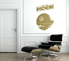Mario Bros Wall Stickers That S No Moon Death Star Wall Decal The Decal Guru