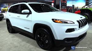jeep car 2017 2017 jeep cherokee 4x4 exterior and interior walkaround 2016