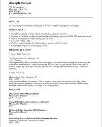 Resume Affiliations Examples by Data Processor Resume Example Free Templates Collection