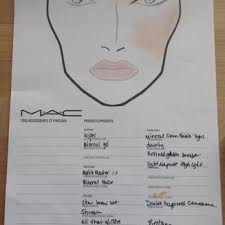 consultation form sle face chart sle mac dartmouth ns canada makeup chart sorry it 39 s