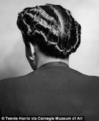 black american hairstyles braided 1950s photographer s archive spotlights women s hairstyles from the 40s