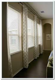 Window Treatments For Wide Windows Designs Curtain Rods For Wide Windows Curtain Curtain Image Gallery