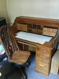 Roll Top Desks For Home Office by Value Of Used Oak Roll Top Desk Best Home Furniture Decoration
