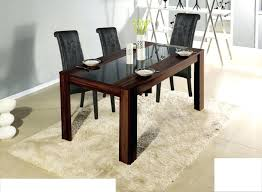 round wood dining table with glass insert sets vs room tables and
