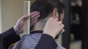 how to trim sideburns and neck hair on men u0027s long hair youtube