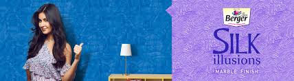 Berger Silk Paints Wall Designs