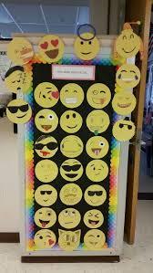 emoji bulletin board door decoration emoji bulletin board and