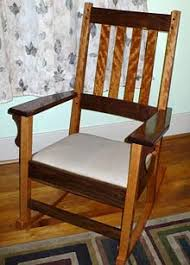 Mission Style Rocking Chair Lee Valley Tools Woodworking Newsletter Vol 3 Issue 2