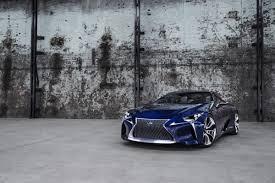 lexus lf lc price lexus lf lc concept gets the blues for the 2012 sydney auto show