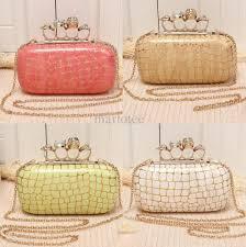 popular knuckle womens evening clutch designer clutch handbags