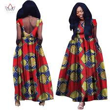 brw african dress for women summer vintage maxi dress dashiki