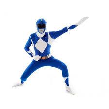 party city halloween costumes morphsuit morphsuit blue power ranger superheroes fancy dress costumes