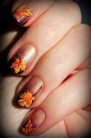 9 best 2015 nails images on designs fall leaves
