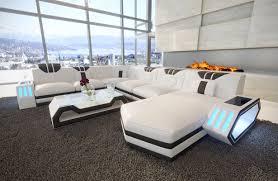 design bank bank clermont met led verlichting nativo design meubelen