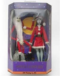 the nightmare before collection doll santa