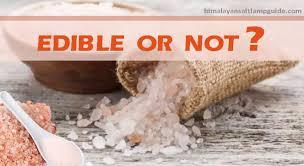 edible rocks is rock salt edible can we eat himalayan salt himalayan salt