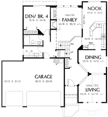 tri level home plans designs tri level narrow lot plan 69373am architectural designs