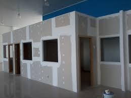 Excepcional Foto: Parede de Drywall + Portas e Janelas Instaladas de Constru  &QW81