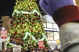 christmas trees on sale black friday black lives matter on christmas why do african americans