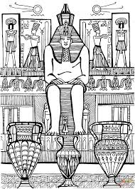 the abu simbel temples coloring page free printable coloring pages