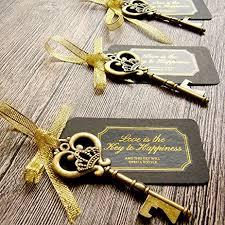 key bottle opener wedding favors 52 heavy duty metal large skeleton key bottle opener