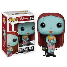 funko pop nightmare before sally with nightshade figure