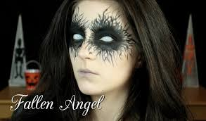 Halloween Makeup Me by Halloween Tutorial Fallen Angel Youtube