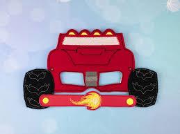 monster truck costume blaze costume blaze mask blaze