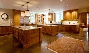 kitchen brown wood wall mounted range hood brown kitchen island