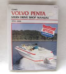 clymer repair manual volvo penta b771 2 ebay
