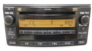 toyota 4runner radio toyota 4runner 2006 cd mp3 wma radio 11808