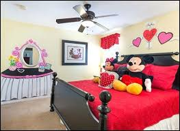 Mickey And Minnie Mouse Bedding Minnie Mouse Room Decoration Stickers Minnie Mouse Bedroom Decor